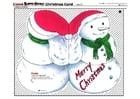 Knutselen cartão de Natal 2