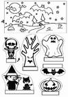 Knutselen diorama de halloween
