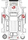 Knutselen Jeep Cruz Vermelha parte 1