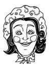 Knutselen máscara de Catarina
