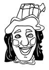 Knutselen máscara de Jan Klassen