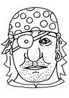 Knutselen máscara de pirata