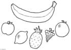 Knutselen móbile de frutas
