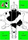 Knutselen vaca