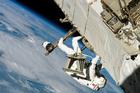 Foto astronauta no espaço
