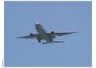 Foto avião decolando