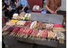 Foto banca de alimentos em Pequim