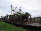 Foto barco na doca