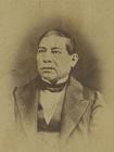 Foto Benito Juárez - aproximadamente 1868