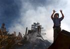 Foto bombeiro do WTC