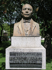 Foto busto - presidente Benito Juárez