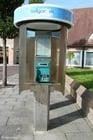 Foto cabine telefônica Belga