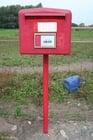Foto caixa de correio na Bélgica