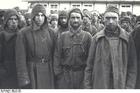 Foto campo de concentração de Mauthausen - prisioneiros de guerra russos