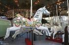 Foto carrossel de cavalos