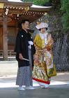 Foto casamento japonês (cerimônia Shinto)