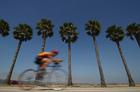 Foto corrida de bicicleta