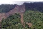 Foto deslizamento de terra