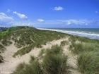 Foto dunas e o mar 1