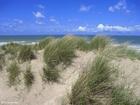 Foto dunas e o mar