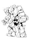 Foto Elementar de pedra - homem de pedra