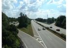 Foto entrada e saída na auto-estrada