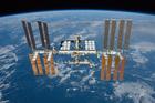 Foto estação espacial internacional