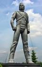 Foto estátua de Michael Jackson