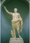 Foto estátua do imperador Augusto