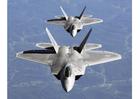 Foto F-22A Raptor em formação