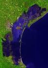 Foto foto de satélite de Veneza