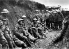 Foto fusileiros irlandeses na Batalha de Sommes