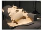 Foto grande estátua de Ramses I, Menphis