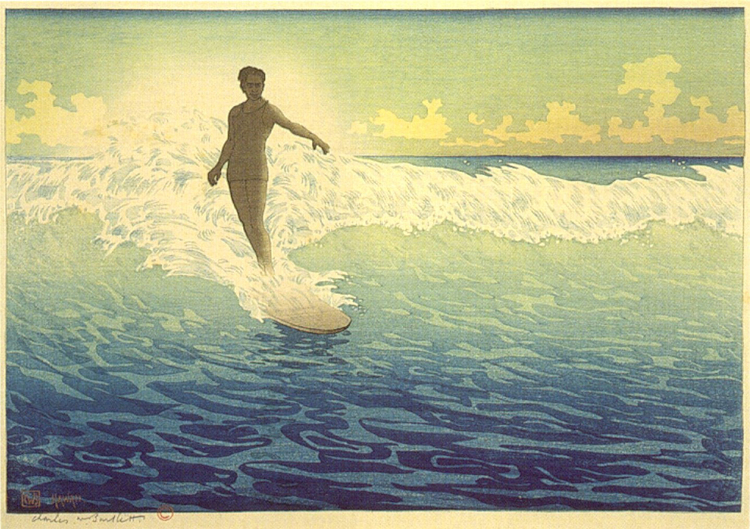 Foto 'Hawaii, The Surf Rider'