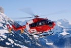 Foto helicóptero de salvamento
