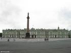 Foto Hermitage - coluna do Palácio de inverno de Alexandre