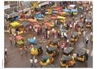 Foto imagem da rua na Índia