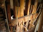 Foto interior do moinho - produção de óleo 2