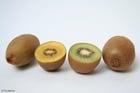 Foto kiwi verde e amarelo