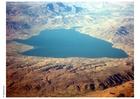 Foto lago no deserto