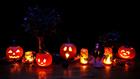 Foto lanternas de Halloween