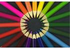 Foto lápis de cor