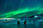 Foto luzes do norte