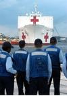 Foto navio hospital