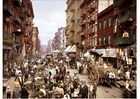 Foto Nova Iorque - Rua Mulberry 1900