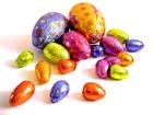 Foto ovos de chocolate