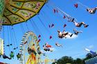 Foto parque de diversão