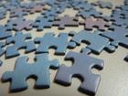 Foto peças de quebra-cabeça