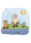 imagem pescar