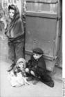 Foto Polônia - gueto de Varsóvia - crianças